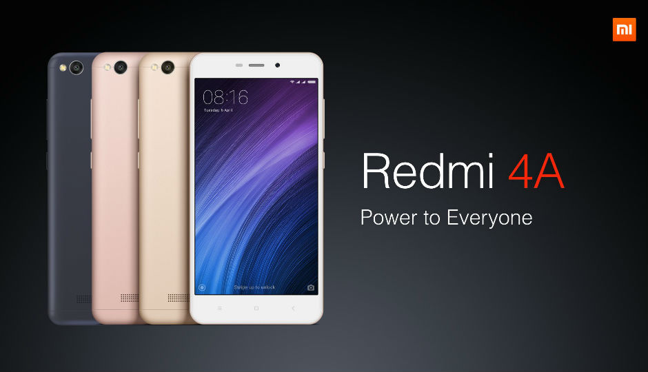 Redmi 4A 32GB Is Now Available @5999/- And It's The Deal Of The Season!