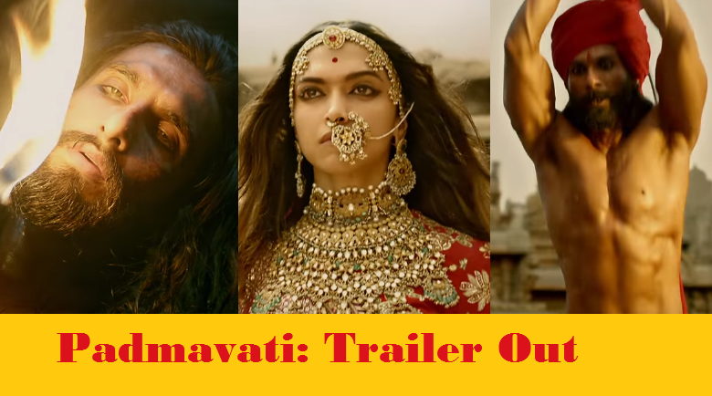 Trailer Of Padmavati Is Out And It Looks Like The Most EPIC Bollywood Movie!!
