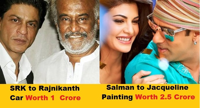 10 Most Expensive Gifts Given By Bollywood Celebrities – No. 1 Cost 75 Crores.
