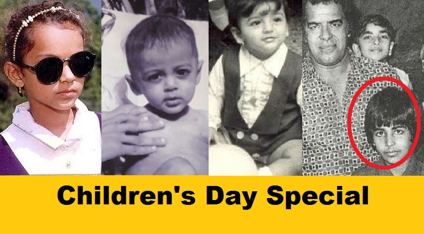 40+ Rare Childhood Photos of Bollywood Celebs. We Bet  You Can't Guess Them All!!