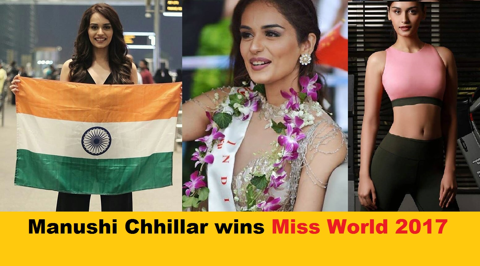Manushi Chhillar Just Won The Miss World 2017 Title! & Her Pics Will Make You Fall In Love #ProudMoment
