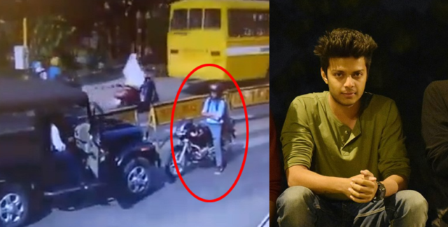 VIRAL : The Heroic Act By Sahil Batav, Who Stood Up Against The Law Breaker Is Going Insanely Viral