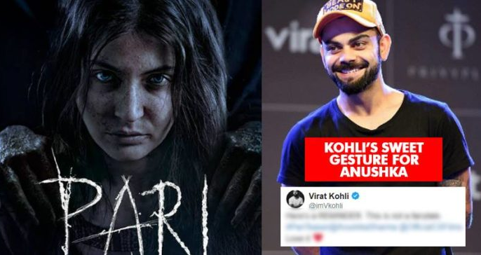 Virat Kohli's Reaction To Pari's Teaser Shows He's The Best Hubby Ever